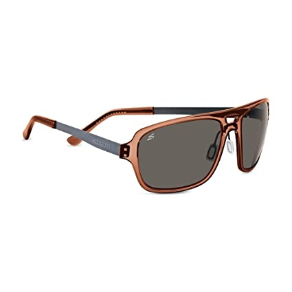 fc996ad2be5c Serengeti Cosmopolitan Nunzio Sunglasses, Polar PhD CPG, Crystal Dark Brown