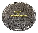 """5"""" Tuffwool Grade #0000 Steel Wool Polishing Disc (3 Pads)"""