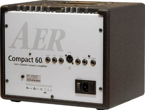 Amazon.com: AER Compact 60/2 60W Acoustic Instrument Guitar Amplifier Amp: Musical Instruments