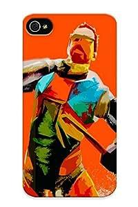 Downturnvver Durable Defender Case For Iphone 4/4s Tpu Cover(gordon Freeman Halflife) Best Gift Choice