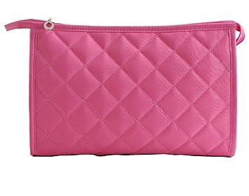 Bolsa de cosméticos, bolsa de cosméticos de viaje multifunción para mujer, estuche de maquillaje, rosa