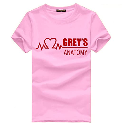CosDaddy ® GREY\'S ANATOMY T-Shirt Bequem Baumwolle Cosplay: Amazon ...