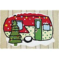 Jellybean Holiday Accent Rug Holiday Camper