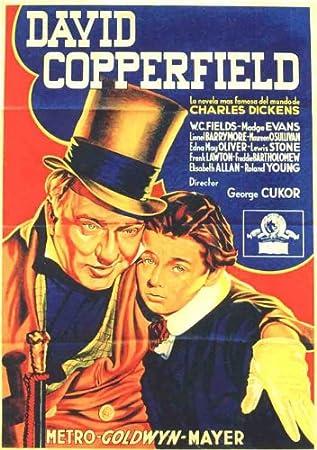 Amazon.com: Póster de David Copperfield Película D 11 x 17 ...