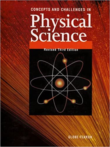 Concepts And Challenges In Physical Science Leonard