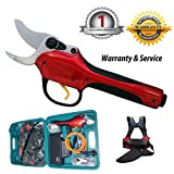 hellosy the Latest Technology Research and Development-SCA2 Battery High Speed Electric Grape Pruning Shears Essential Tool to Take Care of the Garden+1PCS import shear knife