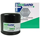 oil filter for versa note - ECOGARD S4612 Spin-On Engine Oil Filter for Synthetic Oil - Premium Replacement Fits Nissan Altima, Sentra, Rogue, Versa, Murano, Maxima, Pathfinder, Quest, Juke, Versa Note, 350Z, Rogue Select