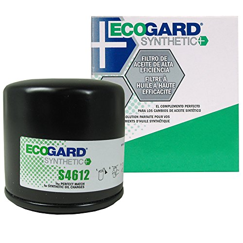 ECOGARD S4612 Spin-On Engine Oil Filter for Synthetic Oil - Premium Replacement Fits Nissan Altima, Sentra, Rogue, Versa, Murano, Maxima, Pathfinder, Quest, Juke, Versa Note, 350Z, Rogue Select (04 05 Hyundai Elantra Engine)