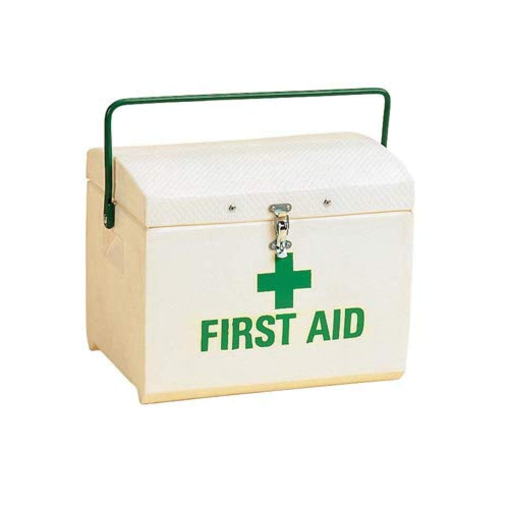 Stubbs First Aid Box (One Size) (White/Green) by Stubbs