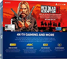 Sony PlayStation 4 Pro 1TB Red Dead Redemption 2 Consola Bundle ...