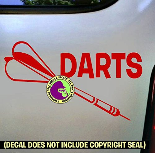 (DARTS Vinyl Decal Sticker D)