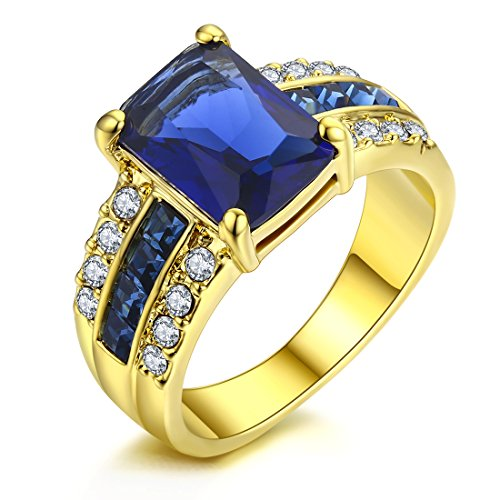 Allencoco-18K-Yellow-Gold-Plated-4-Claw-inlay-Cubic-Zirconia-CZ-Swarovski-Elements-Crystal-Rings