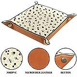 Animal Tracks Organizer Box Leather Jewelry Box for