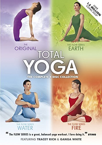 Total Yoga Collection DVD Box Set - 4 Discs by 4Digital Media