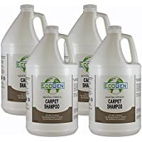 EcoGen ECOCSH-GCS Professional Strength Carpet Shampoo, Concentrated, 1 gal (Pack of 4)