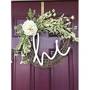 Front Door Wreath with Peony 4