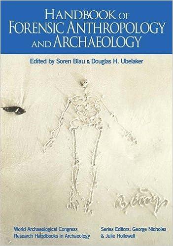 Handbook Of Forensic Archaeology And Anthropology Soren Blau Editor Douglas Ubelaker Editor 8580000406443 Amazon Com Books