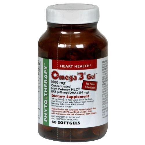 Phyto-thérapie, OMEGA 3 GEL - 60