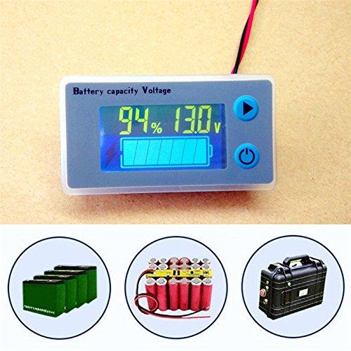 FidgetFidget - Tensiómetro Digital con indicador de Capacidad LCD DE 10 a 100 V: Amazon.es: Electrónica