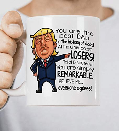 Amazon.com: Taza para regalar a papá/donald, regalo de ...