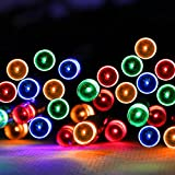 Solar String Lights 300 LED 33M Multicolor LED Fairy Lights Waterproof, choice of light effect. Ideal for Christmas, Halloween, Home & Garden Outdoor Decorative.