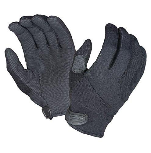 Hatch SGK100 Street Guard  Glove w/Kevlar, Black, Medium