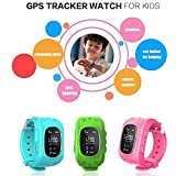JUNEO Children Smart Watch Kids Wrist Watch with Anti-lost GPS Finder Tracker SOS