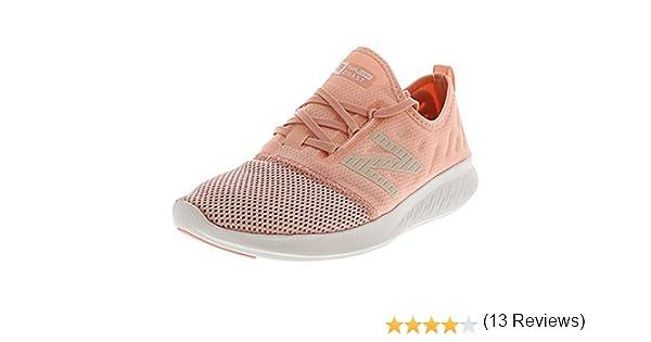 New Balance FuelCore Coast v4 - Zapatillas para correr para mujer, Rosa (Concha rosa del Himalaya), 38 EU: Amazon.es: Zapatos y complementos