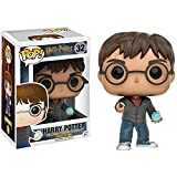 Harry Potter w/ Prophecy Orb: Funko POP! x Harry Potter Vinyl Figure + 1 FREE Official Harry Potter Trading Card Bundle (109888)