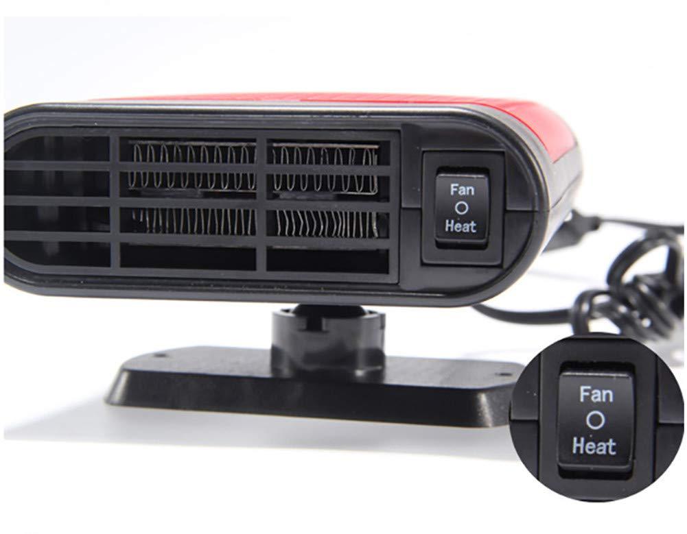Chauffage Rapide 12V Rapidement D/ésembueur Yxmxxm Appareil De Chauffage Portatif pour Voiture D/égivreur Automobile en C/éramique 150W,2