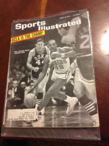 Sports Illustrated Walt Hazzard March 30, 1964 from Unknown