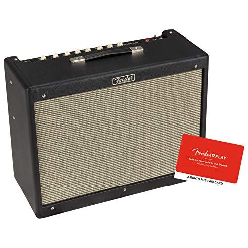 Fender Music Master Bass Amp - Fender Hot Rod Deluxe IV 40-Watt Guitar Combo Amplifier Bundle w/Fender Play