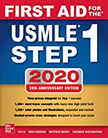 First Aid for the USMLE Step 1 2020, 30th Edition Front Cover