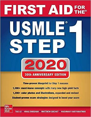 Kết quả hình ảnh cho first aid usmle step 1 2020