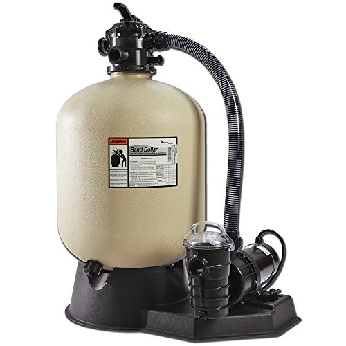 Pentair Sand Dollar 16.5 in. Pool Sand Filter System with 3/4 HP pump by Pentair