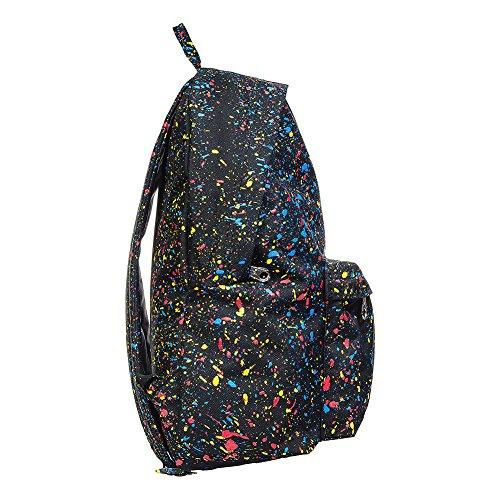 Mochila Hype Speckle Backpack Negro/Manchas multicolor
