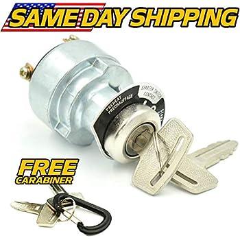 kubota compact tractor ignition key switch b5100 b6100 b7100 v1505,  66706-55120