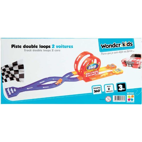 WDK Partner A1400137 - Jeu De Construction - Piste Double Loop