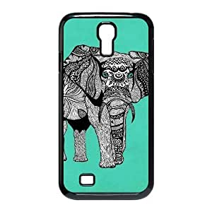 Cool PaintingFashion Cell phone case Of Elephant Aztec Tribal Bumper Plastic Hard Case For Samsung Galaxy S4 i9500