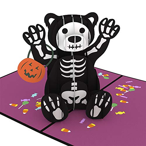 Lovepop Halloween Bear Pop Up -