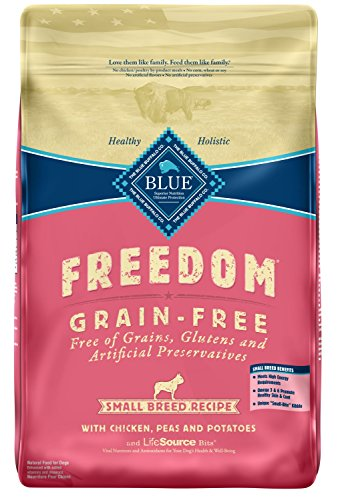Blue Buffalo Freedom Grain Free Recipe for Dog, Small Breed