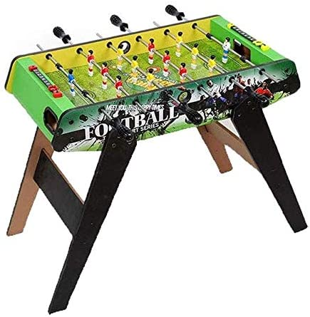 BZLLW Juego de futbolín portátil, for niños y Adultos, fútbol de Mesa Juego de fútbol, Madera Look: Amazon.es: Deportes y aire libre