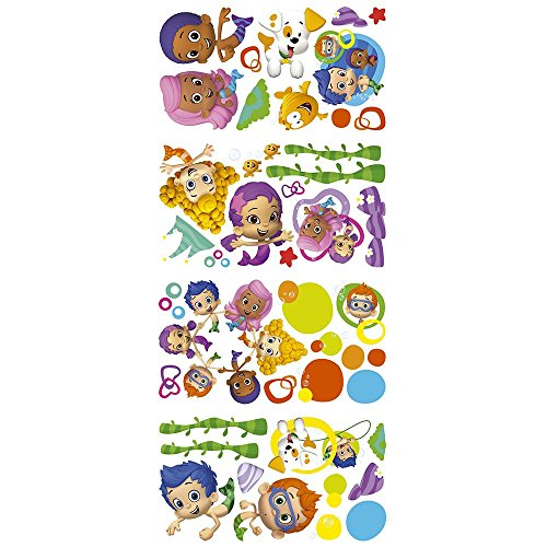 RoomMates Bubble Guppies Party Supplies Wall Decal Decorations -