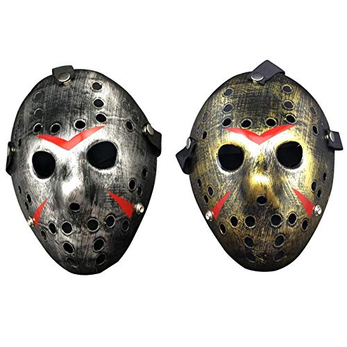 Masquerade Mask Halloween Jason vs Friday The 13th - Horror Hockey Cosplay Costume Halloween Killer Masquerade Mask Halloween -