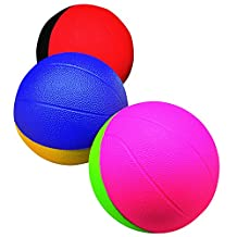 POOF 4-Inch Pro Mini Foam Basketball, Assorted Colors