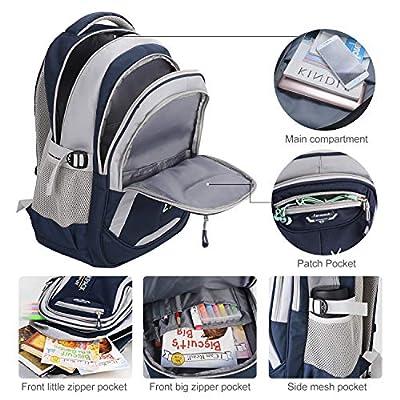 School Bags for Boys, Fanspack Boys Backpack for School Kids Backpack Bookbags for Elementary | Kids' Backpacks