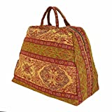 Largemouth Deluxe Mary Poppins Carpet Bag (Paisley 04)