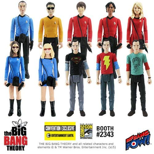 The Big Bang Theory TOS 3 3/4-Inch Figures Case - Con Excl. (The Theory Of The Big Bang Science)