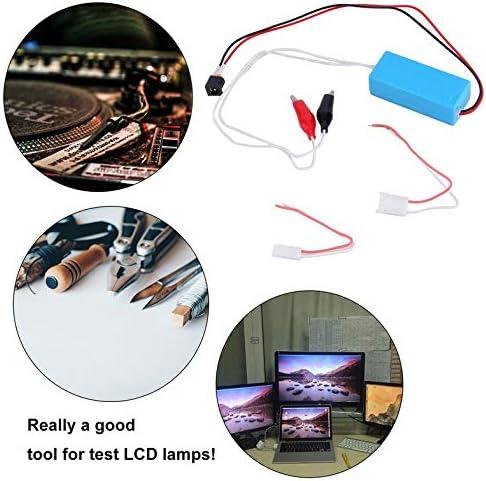 Probador de inversor de lámpara CCFL de 12 V para pantalla LCD portátil TV portátil prueba de reparación de tubo Lampada herramienta de reparación profesional - azul: Amazon.es: Iluminación