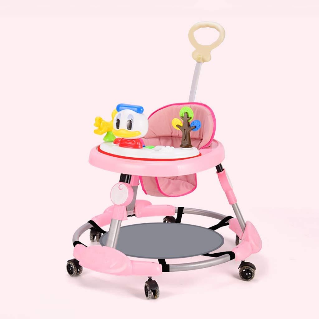 LFY Andadores para bebés, antivuelco Plegable Bebé Aprenda a ...